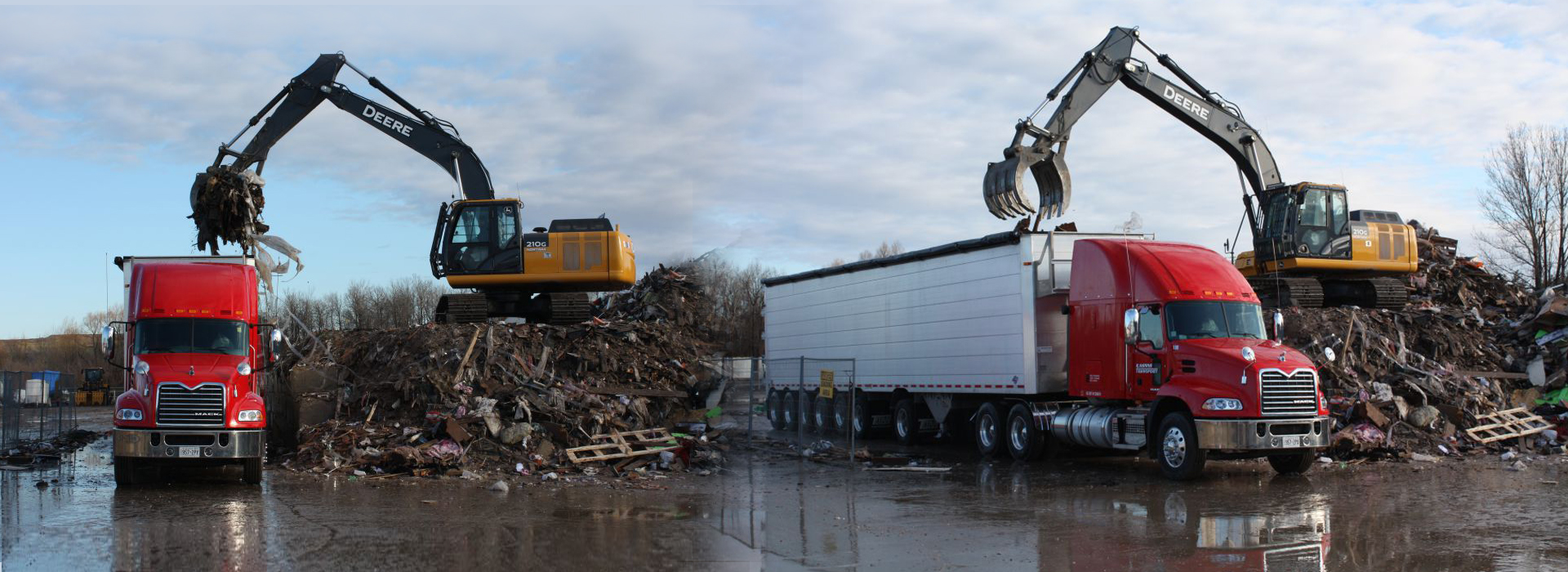 Commercial, Industrial and Residential recycling center serving Barrie, Simcoe County & nearby.